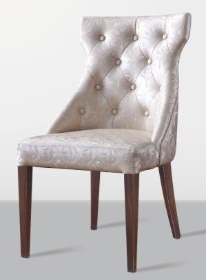 Foto de Sillas de madera tapizadas usadas muebles del banquete de ...