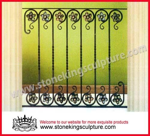 cerca de jardim ferro : cerca de jardim ferro: ferro, cercas do jardim fornecido por Stoneking Sculpture Factory para