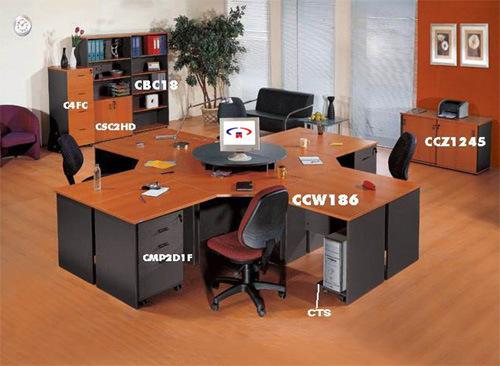 Escritorio de oficina muebles de oficinas muebles de la for Proveedores de muebles de oficina
