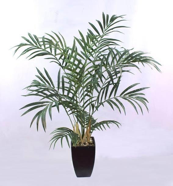 Palmera artificial de la planta palmera artificial de la - Plantas de interior tipos ...