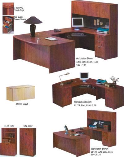 Muebles laminados muebles de oficinas oficina workstaton for Muebles de oficina 1