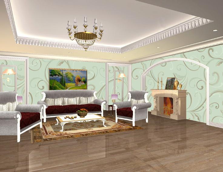 Papel de parede eco friendly da sala de estar de 100 for Wallpaper sala de estar