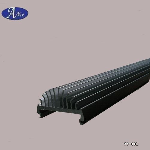 Alluminio led t5 t8 dissipatore di calore della luce del for Prezzo del pacchetto di 2 box auto