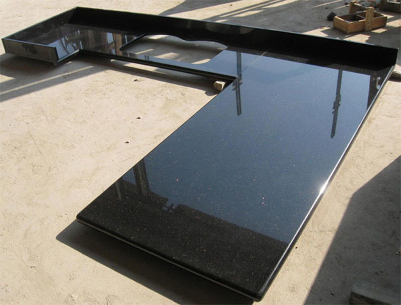 encimera negra china del granito u encimera negra china del granito por qingdao dongxin stone co ltd a pases