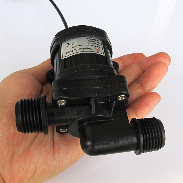 Bomba de agua sin cepillo de la c c peque a bomba - Bombas de agua sumergibles pequenas ...