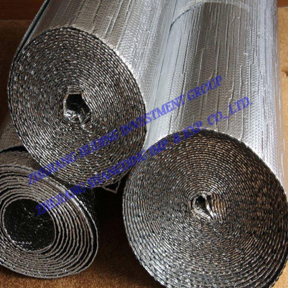 papier d 39 aluminium de mat riaux d 39 isolation thermique avec la bulle pour l 39 isolation de toit. Black Bedroom Furniture Sets. Home Design Ideas