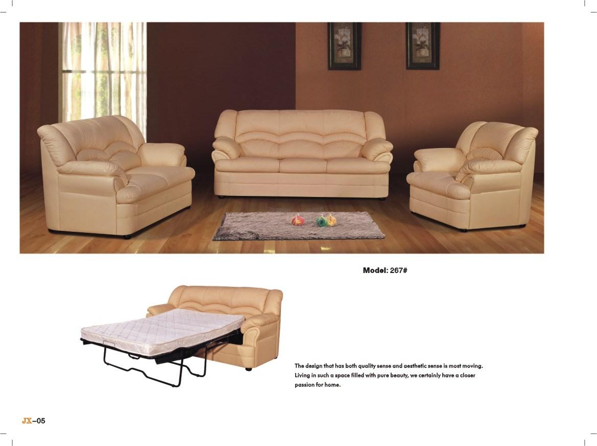 Cama de sof de cuero l 267 cama de sof de cuero l - Camas de cuero ...