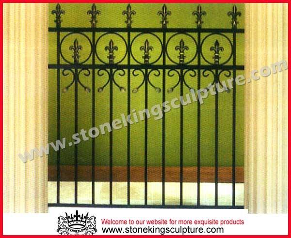 Cerca forjada del hierro cercas de acero cerca forjada - Cercas de hierro ...