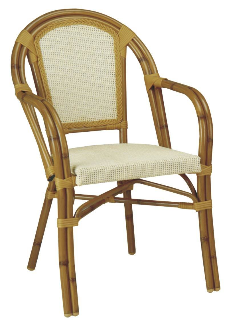 Textilene 의자 (BZ-CB003) 대나무 같이 옥외 정원 다방 가구 ...