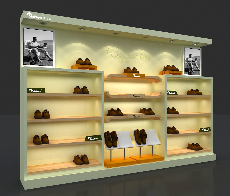 На стену полка для обуви