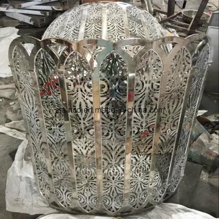 주문 스테인리스 공 상점가를 위한 옥외 금속 조각품에사진 kr ...