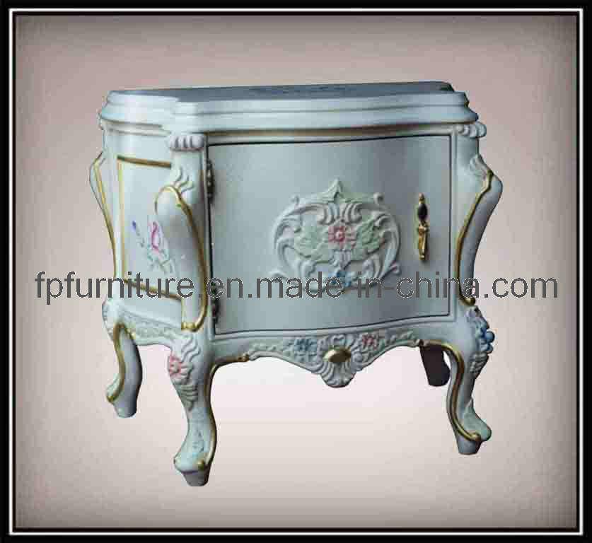 Het franse meubilair van de slaapkamer van de stijl klassieke franse bedstand het franse - Meubilair van de ingang spiegel ...