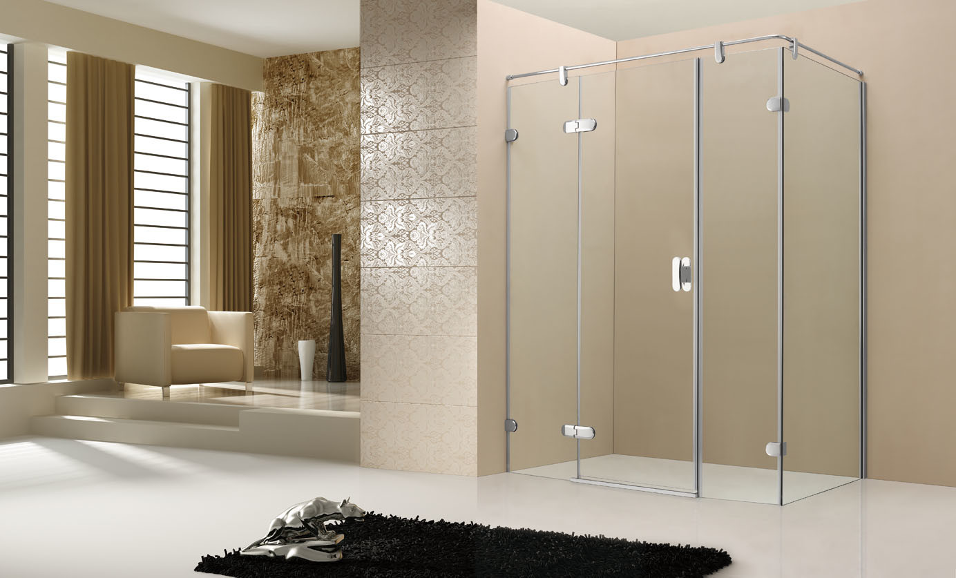 porte de douche de charni re de coin de rectangle de caml chh113 porte de douche de charni re. Black Bedroom Furniture Sets. Home Design Ideas