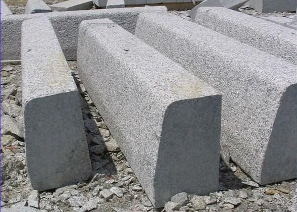 Piedra del bordillo del granito g341 para pavimentar for Piedra de granito precio