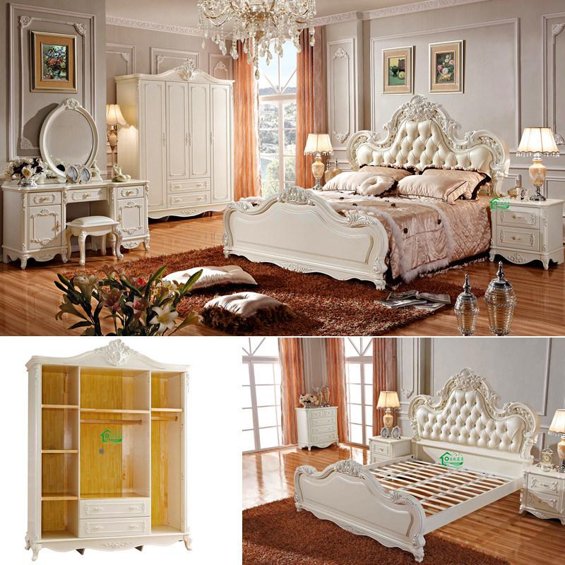 Het meubilair van de slaapkamer het houten meubilair van de slaapkamer yf 9801 het meubilair - Meubilair van de ingang spiegel ...