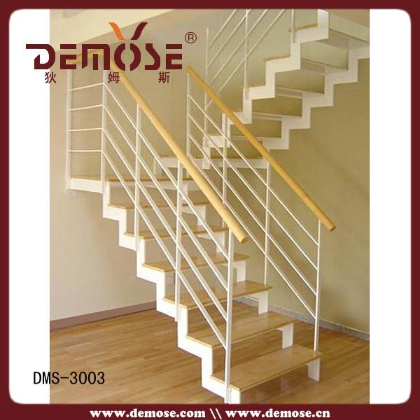 La escalera de madera simple para casa dms 3003 la - Precios de escaleras de madera para casas ...