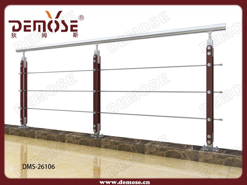 fil d 39 acier bois garde corps pour veranda dms 26106 fil. Black Bedroom Furniture Sets. Home Design Ideas