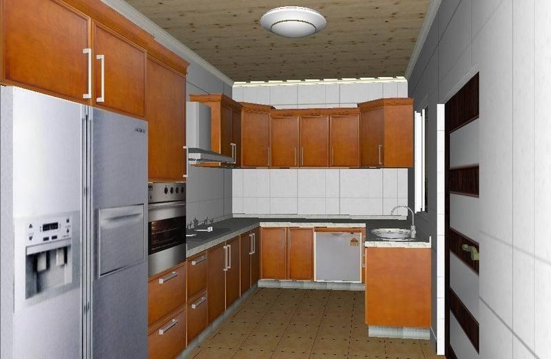 Gabinete de cocina de encargo wj k013 gabinete de for Modelos de gabinetes de cocina
