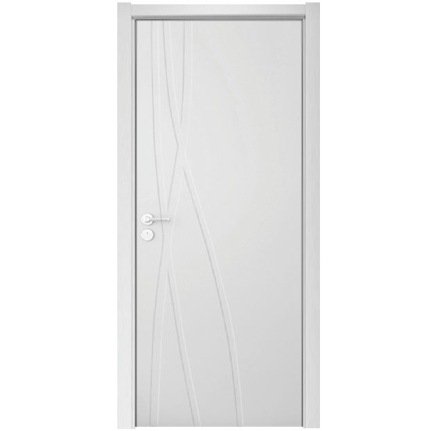 Porte int rieure de finition de laque de porte de woonden - Placage porte interieure ...