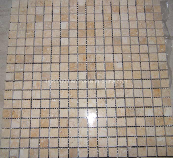Azulejos Baño Marmol:Foto de Beige mármol del azulejo de mosaico para baño o piso en es