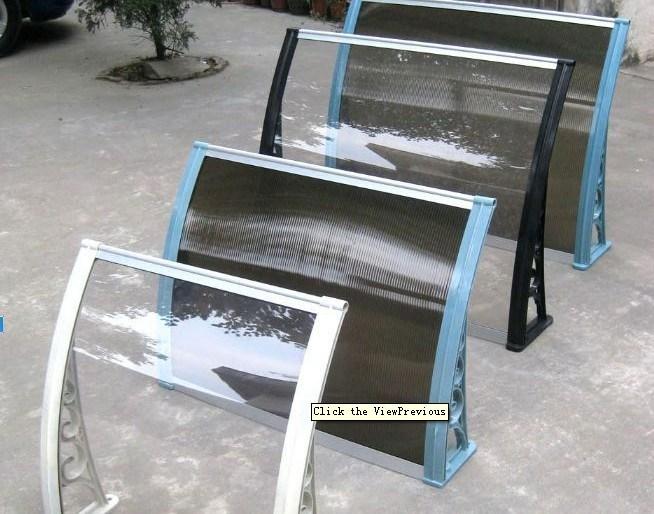 Toldo de aluminio de la hoja del policarbonato pabell n for Toldos de aluminio