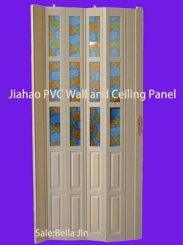 pvc que dobla la puerta de madera fd h098 pvc que