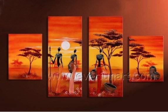 co everfunart image Nude African Women Canvas Art Oil Painting AR  eyonoohig NjwaReYdwbky