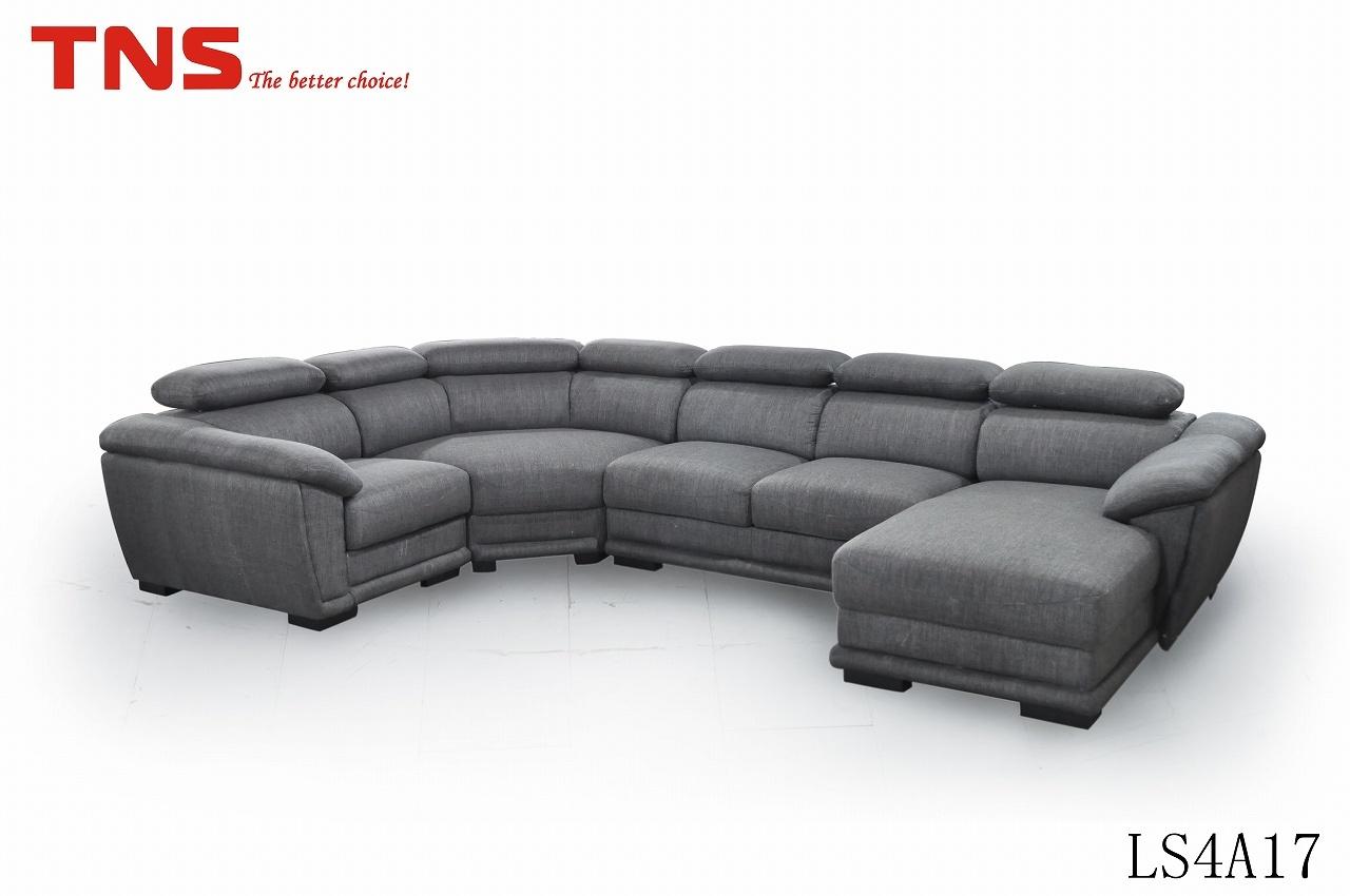 Sof de alta densidad de la esquina de la esponja ls4a17 - Espuma de alta densidad para sofa ...