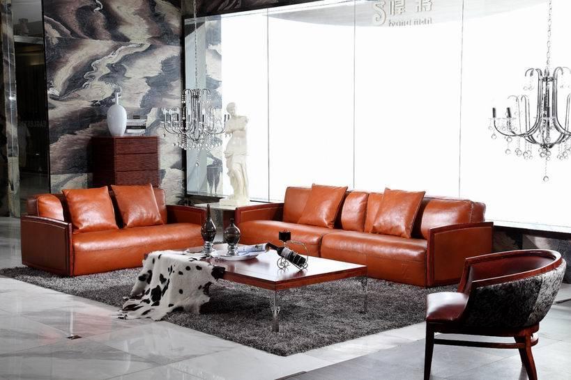 Sofa en cuir de luxe, sofas en cuir de mode 2013, bonne conception (SL1275)  u2013Sofa en cuir de