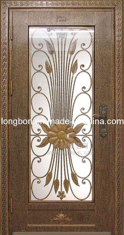Puertas usadas modernas de la puerta del hierro labrado for Modelos de puertas de metal modernas