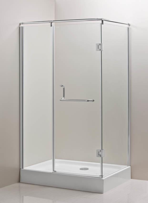 Recinto de la esquina de la ducha de la bisagra de caml for Manija para ducha