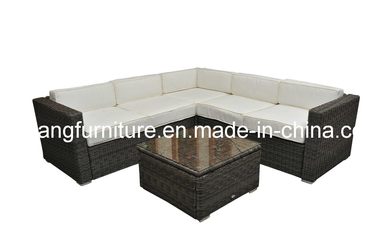 Muebles al aire libre seccionales redondos de la buena for Sofas espanoles calidad