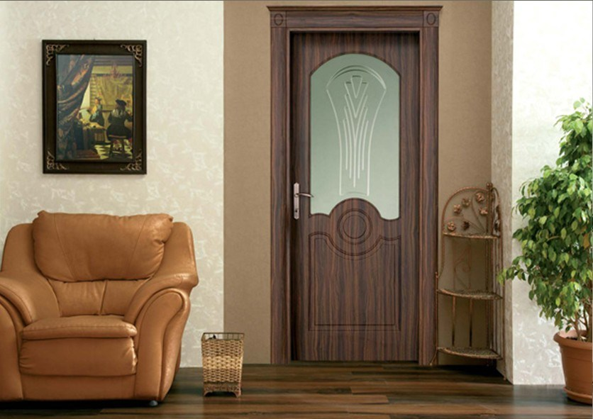 Puertas De Baño Madera:Puerta de madera del PVC (OS004) – Puerta de madera del PVC (OS004