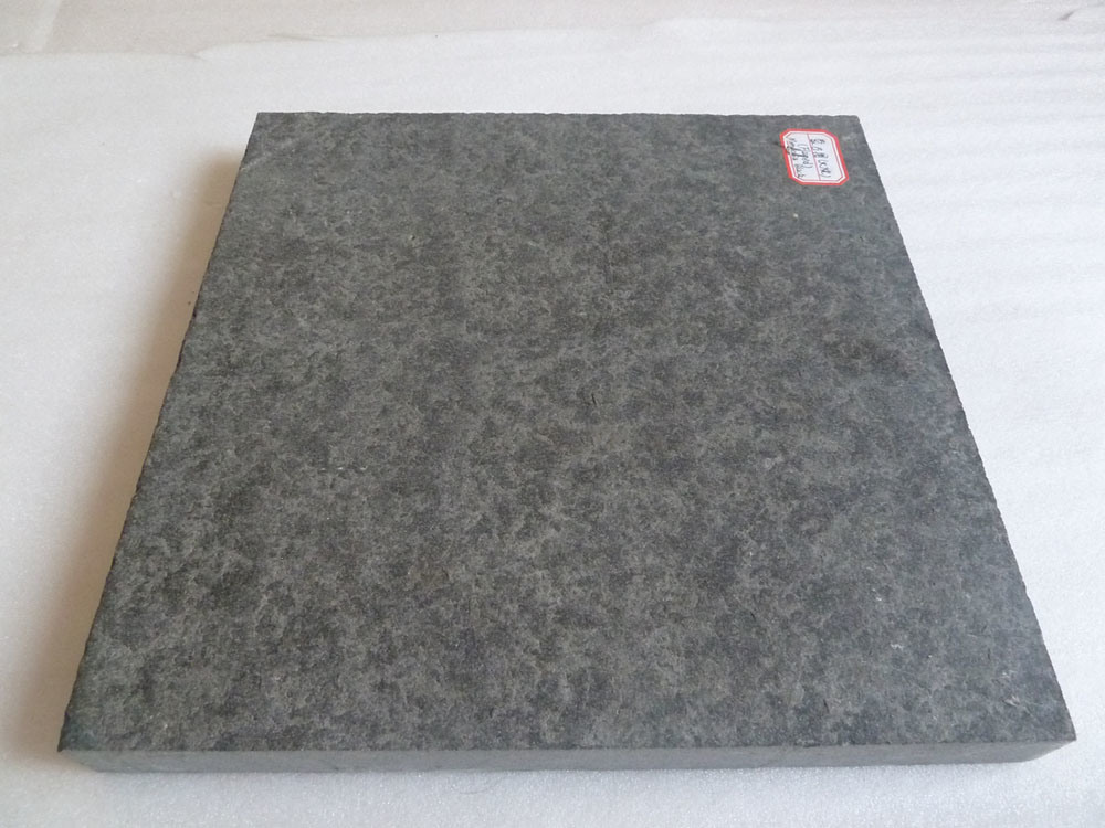 Natural flameado mongolia negro granito material de piedra for Piedra granito negro