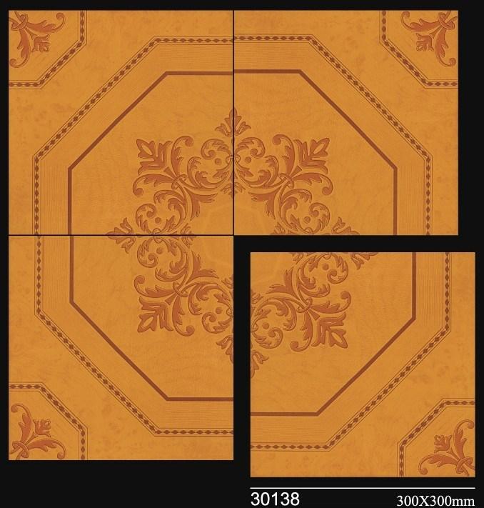 Tamano Baldosas Baño:Azulejos de piso de cerámica esmaltados con diseño de tamaños de