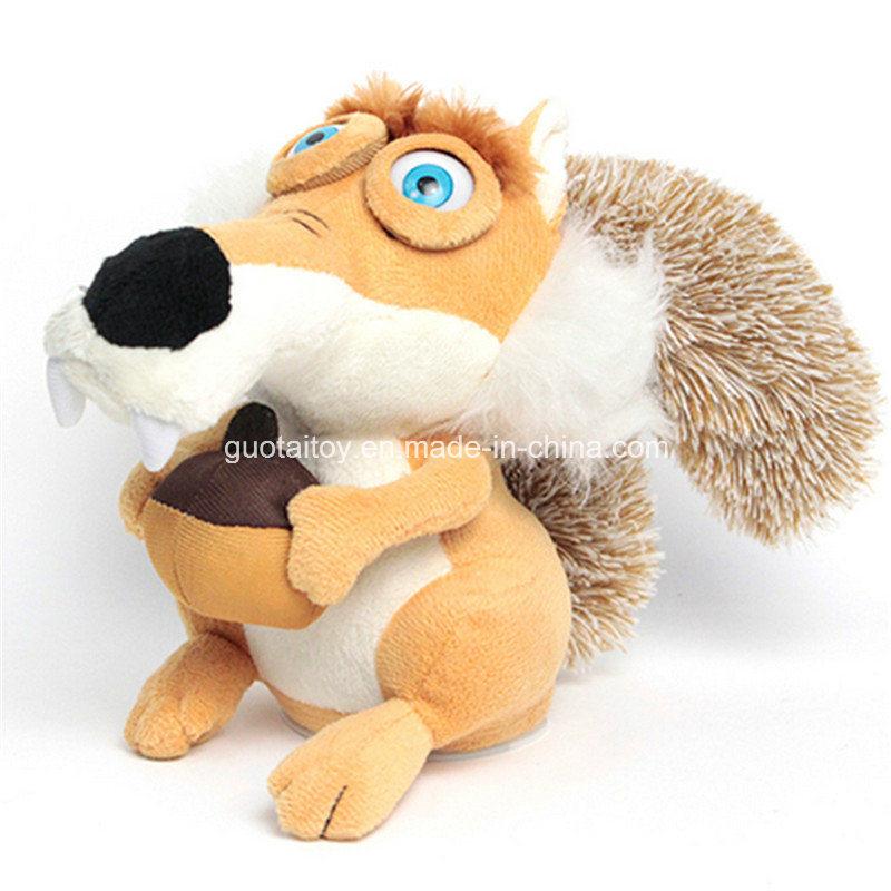 Juguete de la felpa de la ardilla que habla juguete de for Espejo que habla juguete