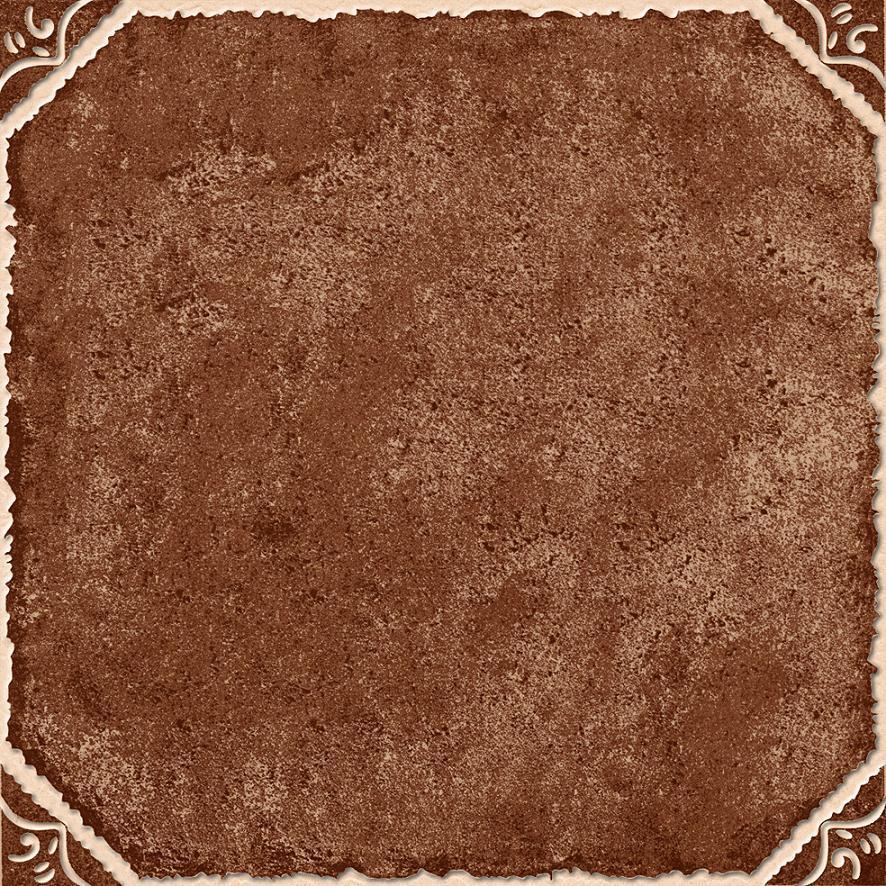 Azulejo de suelo de cer mica r stico del color oscuro - Suelos de ceramica rusticos ...