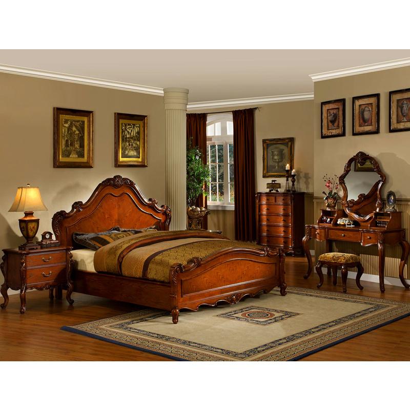 Cama de madera para los muebles del dormitorio (YF-WA601-1) – Cama ...