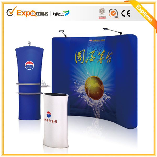 Exhibition Booth Hs Code : Ft portable advertising backdrop pop up roll trade