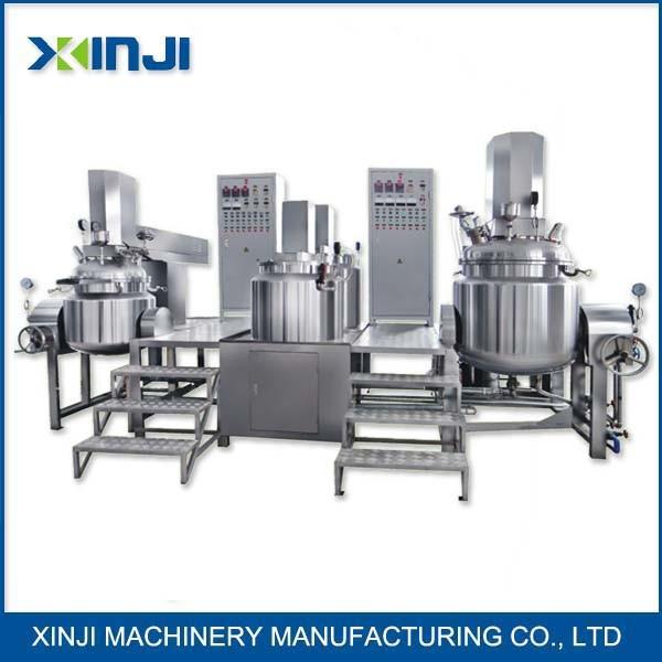 Machine de fabrication de mayonnaise machine de mulsification de vide machine de fabrication - Machine de fabrication de couette ...