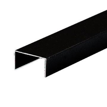 profile en aluminium u shaped track pour partition door hdl08 228 profile en aluminium u. Black Bedroom Furniture Sets. Home Design Ideas