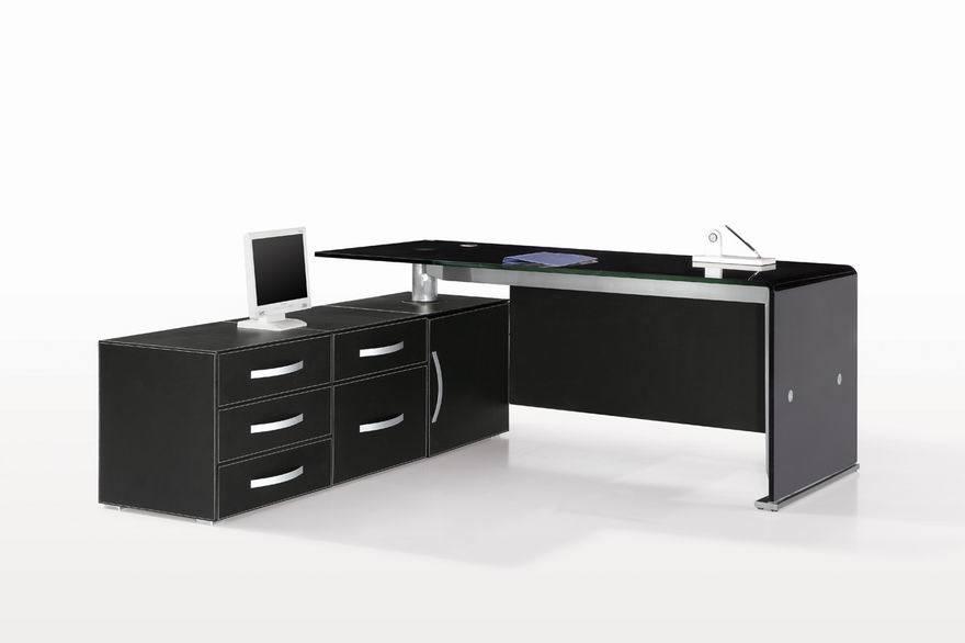 Escritorio de oficina moderno muebles de cuero for Muebles de oficina modernos precios