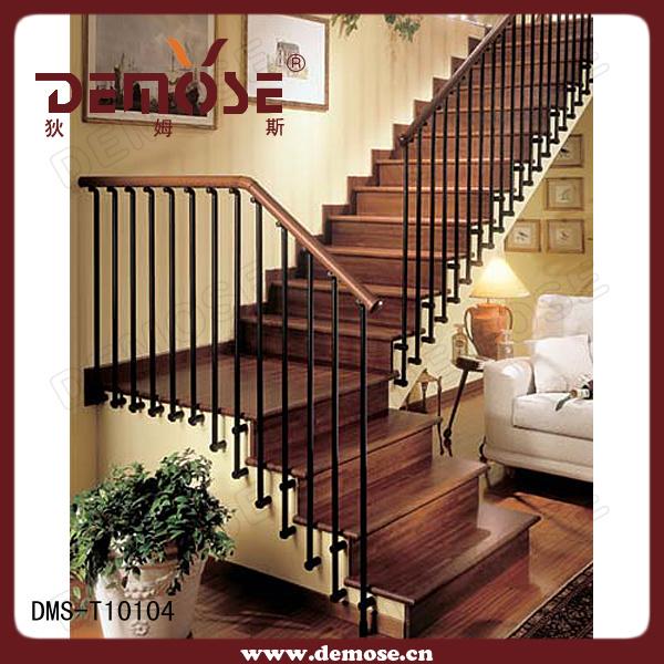 La escalera de madera interior dms t10104 la escalera for Escaleras de madera interior precio