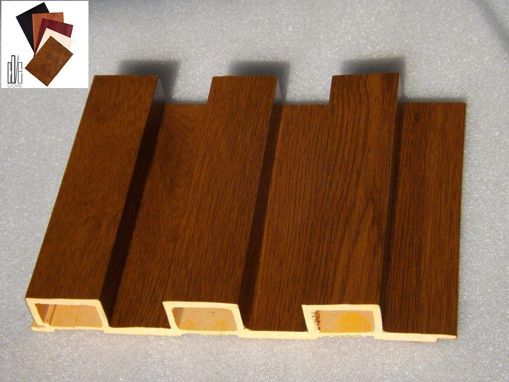 panel de pared laminado de pvc wpc para uso exterior