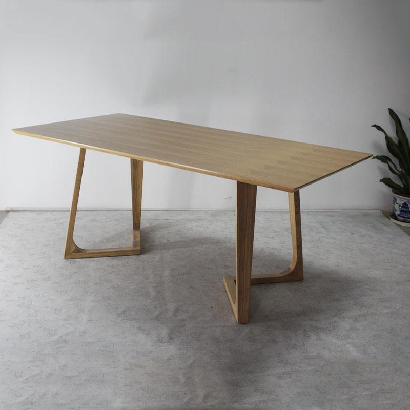 현대 디자인 식당 단단한 나무 식탁에사진 kr.Made-in-China.com