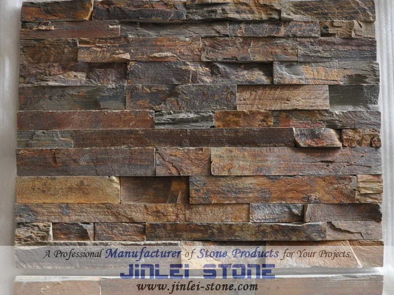 Apilados baldosas de piedra piedra pizarra pila apilado Baldosa pared piedra