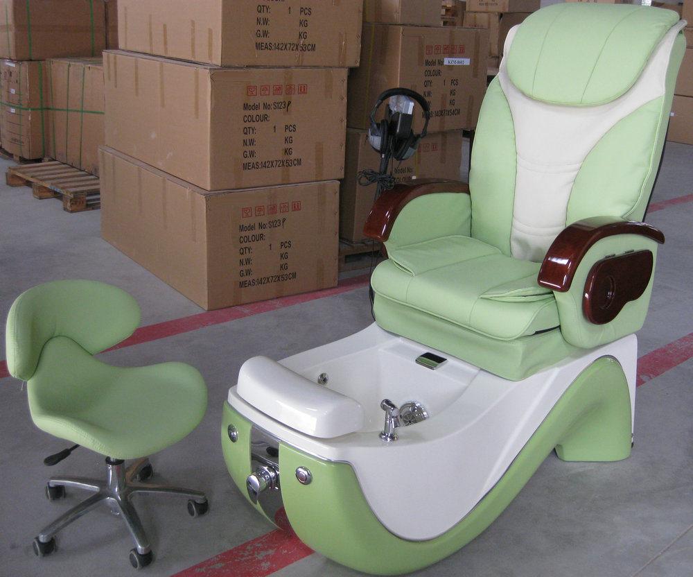 Silla de pedicure del masaje del balneario silla de for Sillas para hacer pedicure
