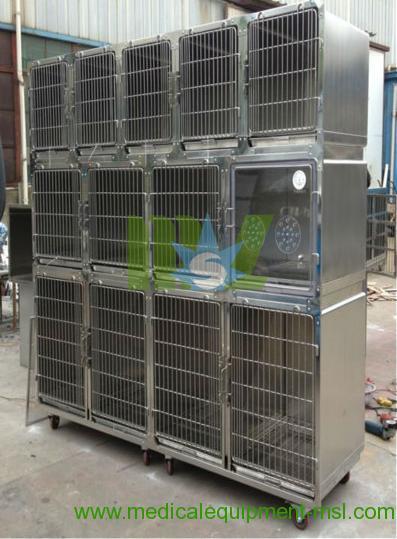 Jaula del perro del acero inoxidable mslvc01 jaula del for Jaulas de perros