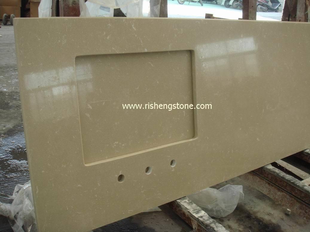 Bancada de pedra worktop bancada de m rmore artificial for Granito artificial