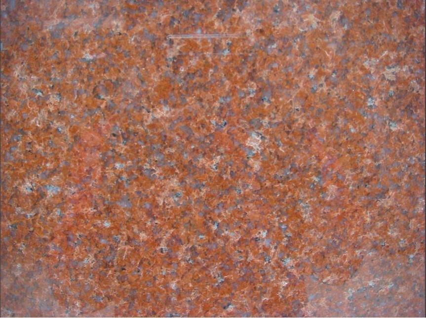Losa de piedra granito roja roja imperial de la rojo india for Piedra granito negro